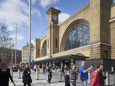 New business centre in King's Cross Central London