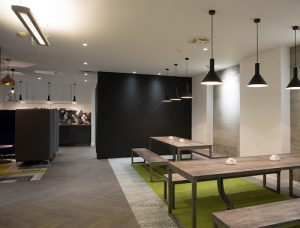Farringdon Street serviced office in London