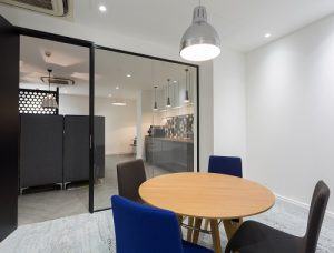 Farringdon Street serviced office in London meeting room