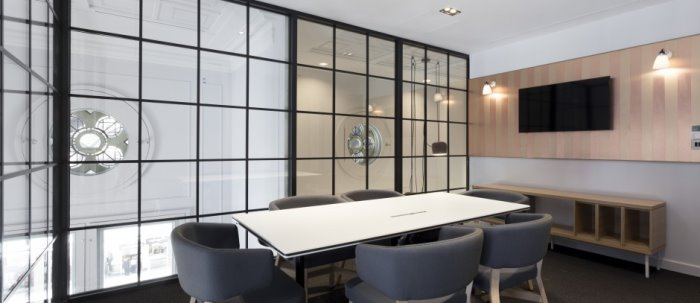 Meeting room in Liverpool Street business centre