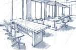 Office Design Sketch