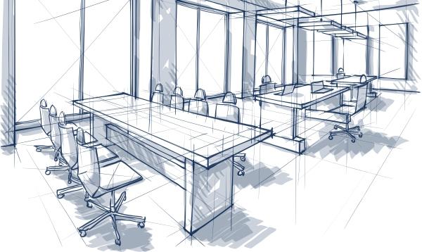 Office Design Sketch