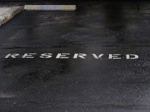 Reserved parking for serviced office space in London tenants