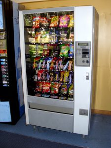 vending machine for london office buildings