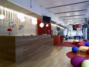 Google office space interiors