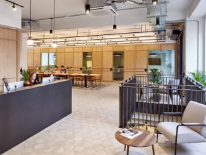 office space in London West End TOG reception