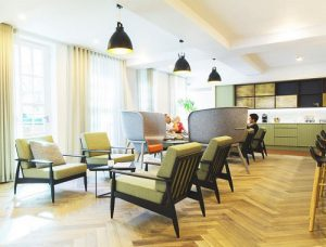 Wimpole Street serviced offices in London Relaxing Space