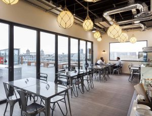 20 St Dunstans Hill Cafe London serviced office space