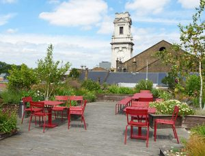 81 Rivington Street Roof Terrace London serviced office space