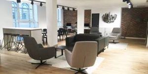 threadneedle Street City of London office lounge