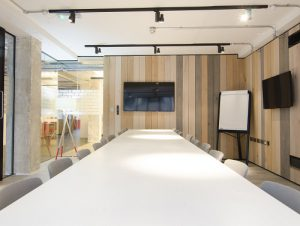 Bonhil Street office for rent in London meeting room
