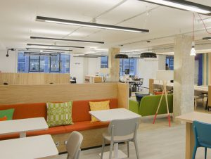 Bonhil Street office for rent in London break out space