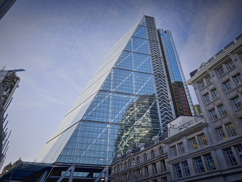 Leadenhall Exterior office space in London City