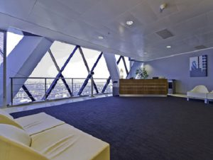 St Mary Axe office for rent in Londonm Reception