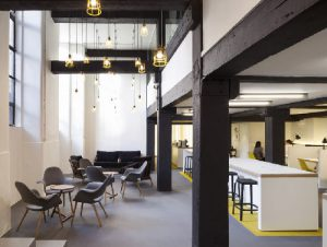 Rivington Street office for rent in London break out space