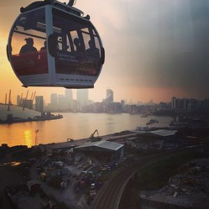 rent London office space Emirates Air Line Cable Car
