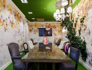 rent an office in london tea party room