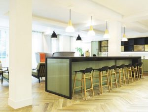 Rent office space in London's Wimpole Street, Kitchen