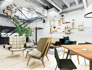 LABS Central London offices break-out space