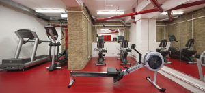Lenta office space in London gym