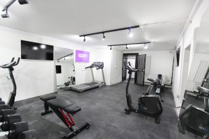 Threadneedle Street office space in London gym