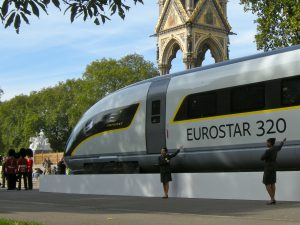 Eurostar e320 new for international clients