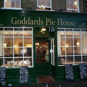 Goddard's Pie House in Greenwich Londonoffices