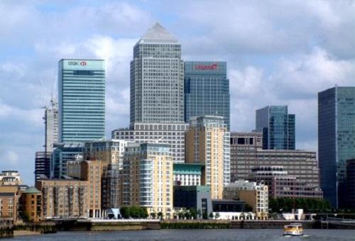 Docklands-Canary-Wharf-London office buildings