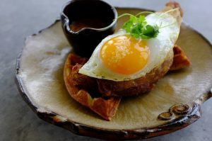 Duck and Waffle Signature Dish business breakfast
