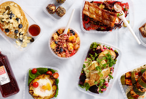 Bespoke Office Fuel meal prep for the London office