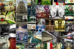 London Underground Collage