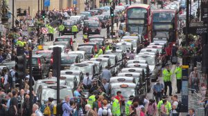 Uber Protest London