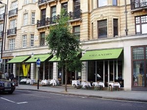 Villandy business breakfast Exterior