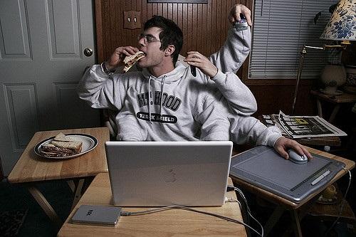 Multitasking work life balance