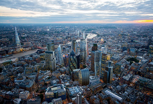 Central London office vacancies overview