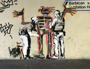 Serviced office providers in London BE Barbicab Banksy