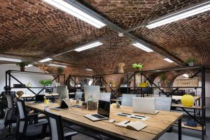 The Dock. Tobacco Dock. office