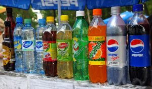 Refreshments in Plastic Bottles