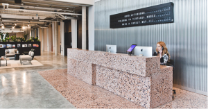 Tintagel House TOG Reception Desk