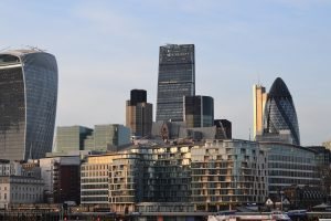 London Skyline Image - Close Up - Vertiports