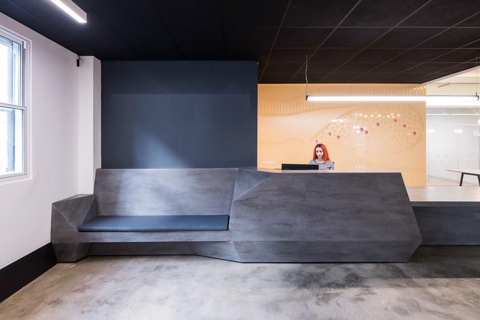 The Coalface Workspace Reception