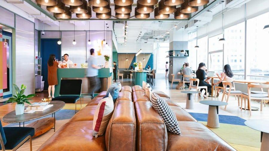 WeWork York Road Lounge