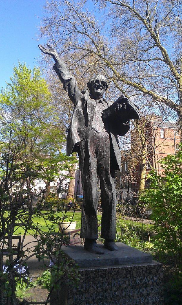 Fenner_Brockway_Statue,_Red_Lion_Square