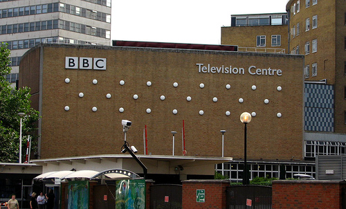 BBC Television Centre office space in West London