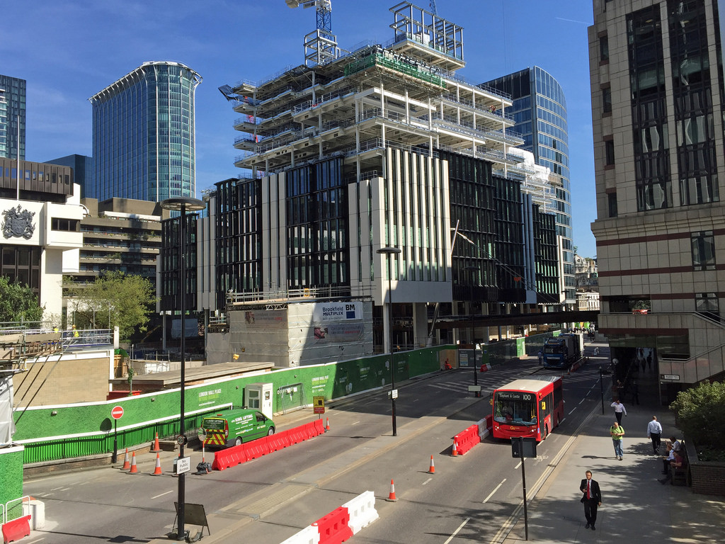 serviced offices in London City London Wall Place
