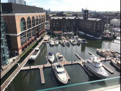 London office building St Katherine Docks