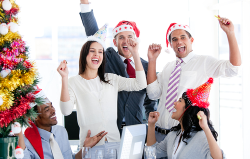 London shared office space Christmas tips