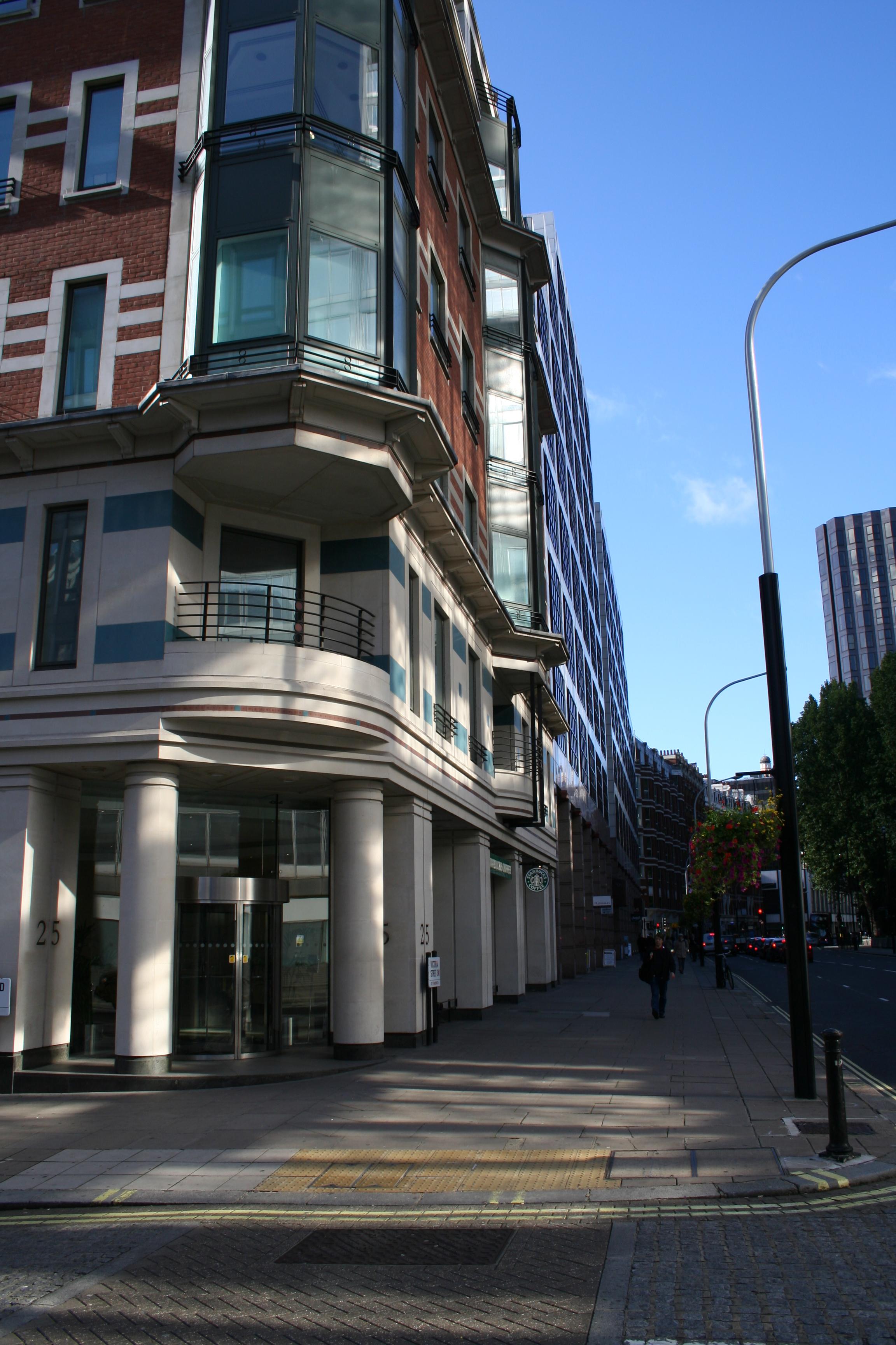 25 Victoria Street New London office