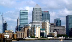 Canary Wharf managed offices in London
