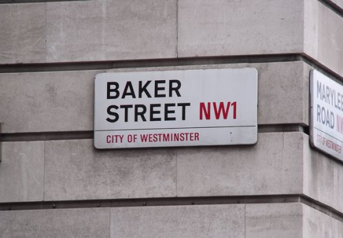 Baker Street signage - space for rent in london
